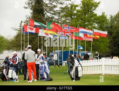 The K Club, Straffan, Co. Kildare, Ireland. 19th May, 2016. Dubai Duty Free Irish Open Golf Championship, round - Stock Photo