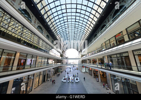 Mall of Berlin, Leipziger Platz, Mitte, Berlin, Deutschland - Stock Photo