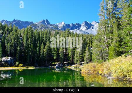 mammoth lakes in eastern sierra region california stock photo