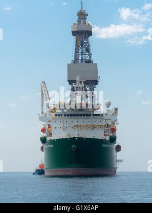 Ocean Rig, Offshore boat for oil and gas extraction, Walvis Bay, Erongo Region, Namibia