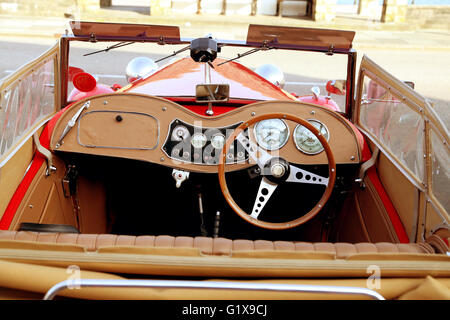 MG British sports car of 1952 - Stock Photo