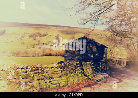 Dentdale, Yorkshire Dales National Park, Cumbria, England. - Stock Photo