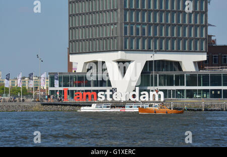I am amsterdam the official logo for all things related to amsterdam - Stock Photo