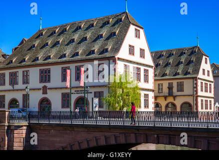 La Grande Boucherie building 16th century, housing the historical museum, Strasbourg, Alsace, France, Europe - Stock Photo