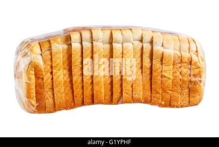Sliced Bread In Plastic Bag Stock Photo 104487305 Alamy