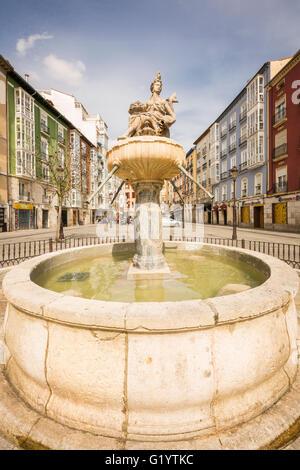Camino de Santiago pilgrimage journey from St Jean Pied de Port, France to Burgos Spain. - Stock Photo