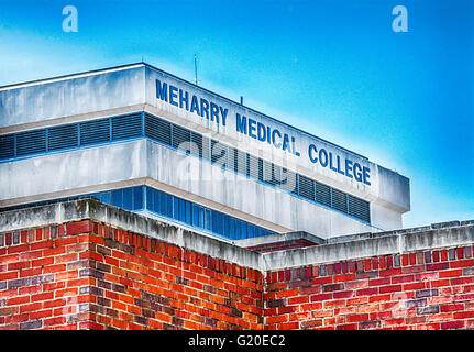 The Historically African American Meharry Medical College Building in Nashville TN - Stock Photo