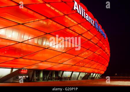 Allianz Arena in Munich - Stock Photo