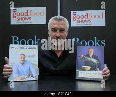 London, UK. 22nd May, 2016. Paul Hollywood best known for being a judge on the BBC's The Great British Bake Of cooking - Stock Photo