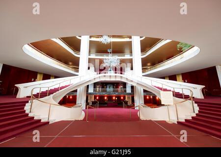 Hall, Metropolitan Opera, New York City, New York, United States - Stock Photo