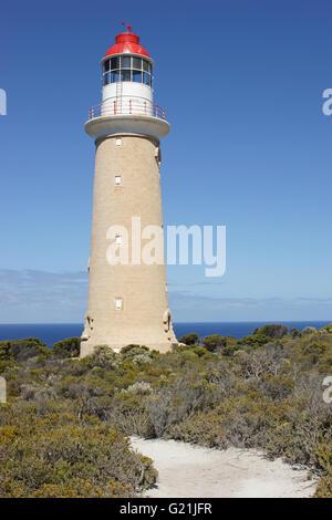 Lighthouse on Cape du Couedic, Kangaroo Island, South Australia - Stock Photo