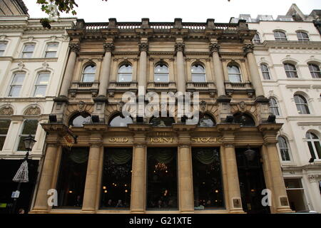 The Old Joint Stock pub, on Temple Row West, Birmingham - Stock Photo