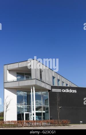 Adidas office building - Stock Photo