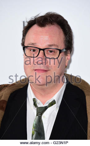 """Embargoed to 0001 Tuesday May 24 File photo dated 11/03/16 of Russell T Davies who has joked that he """"stole"""" - Stock Photo"""