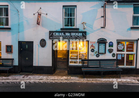 Nancy's Bar in Ardara, County Donegal, Ireland - Stock Photo