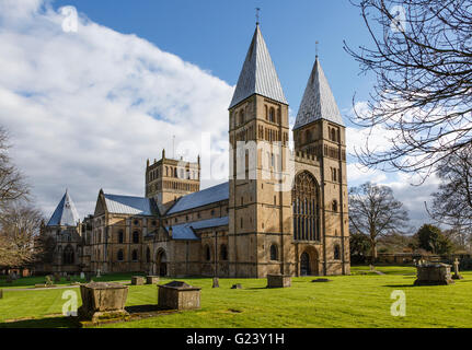 Southwell Minster, Nottinghamshire - Stock Photo