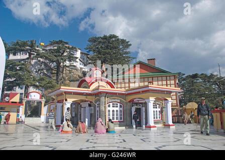 Kali temple, Shimla, Himachal Pradesh, India - Stock Photo