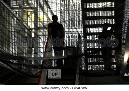 Embargoed to 0001 Tuesday May 24 File photo dated 29/04/13 of Pentonville Prison, London. An increased risk of suicide - Stock Photo