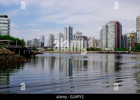 Vancouver condo Canadian housing market - Stock Photo