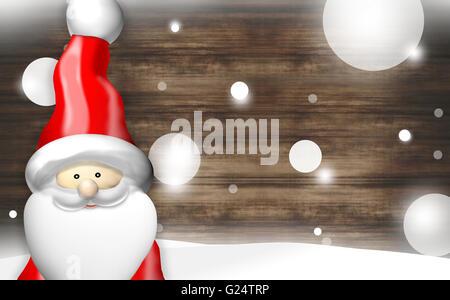 Christmas Santa Claus - Stock Photo
