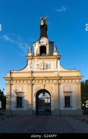 Architecture. Gate of the Branicki Palace in Bialystok, Poland. - Stock Photo