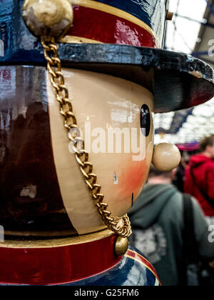 Giant Toy Soldier at Greenwich Market - Stock Photo