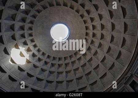 Rome Pantheon Interior - Stock Photo