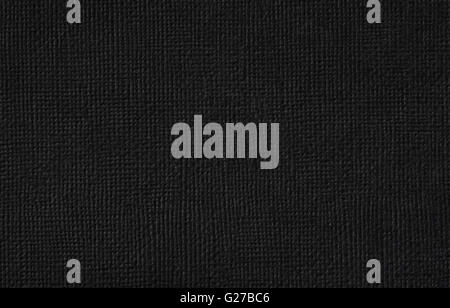 Black cardboard texture background - Stock Photo
