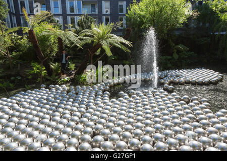 London, UK. 24 May 2016. Narcissus Garden, 1966. A new exhibition by Japanese artist Yayoi Kusama opens at all three - Stock Photo