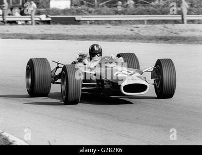 Lotus 49 Graham Hill, 1967 Italian Grand Prix. (National Motor Museum exhibit) - Stock Photo