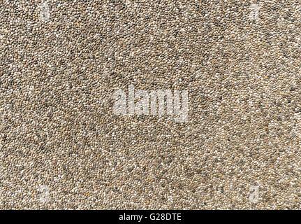 Exposed aggregate concrete - Stock Photo