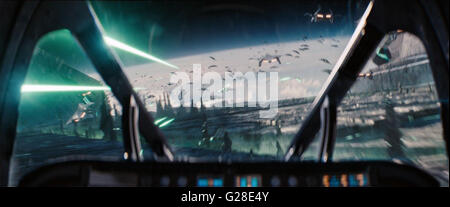 Independence Day: Resurgence is an upcoming 2016 American science fiction disaster film directed by Roland Emmerich, - Stock Photo