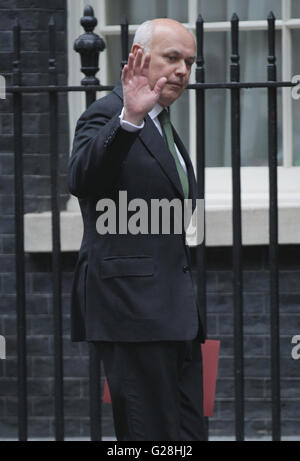 London, UK, 15th Sep 2015: Iain Duncan Smith MP, Secretary of State for Work and Pensions, seen attending the cabinet meeting in Downing Street, London