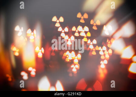 particles radiation nuclear abstract blur background - Stock Photo