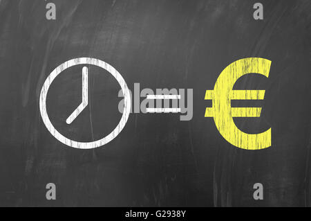 Euro Currency Symbol Concept Using A Hand Holding A Piece Of Paper
