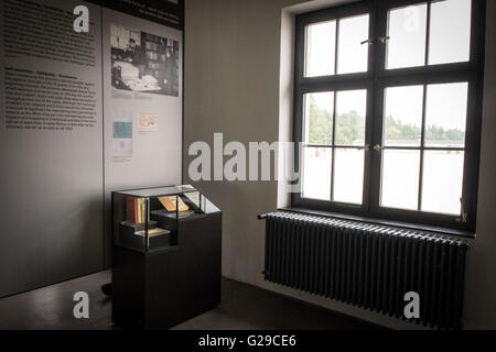 Munich, Germany. 21st Aug, 2015. Dachau concentration camp in Germany was first opened March 22, 1933 as the Nazi - Stock Photo
