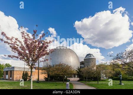 Zeiss-Planetarium, Prenzlauer Berg district, Berlin, Germany, Europe - Stock Photo