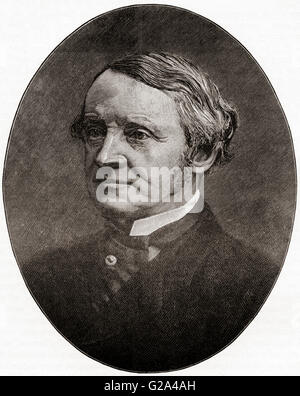 Chichester Samuel Parkinson-Fortescue, 2nd Baron Clermont and 1st Baron Carlingford , 1823 – 1898, aka Chichester - Stock Photo