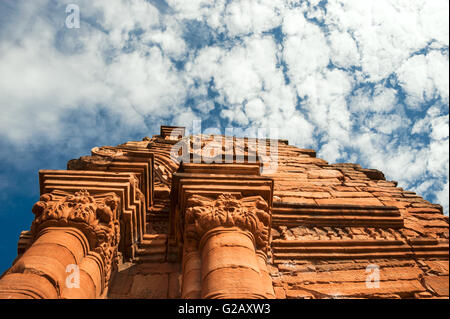 San Ignacio-Mini mission founded in 1632 by the Jesuits, Misiones Province, Argentina - Stock Photo