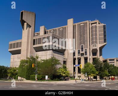 Robarts Library of the University of Toronto, Toronto, Ontario, Canada - Stock Photo