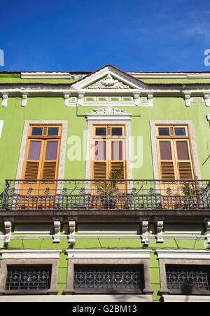 Colonial architecture, Fatima, Rio de Janeiro, Brazil - Stock Photo