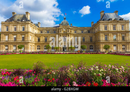 Palais du Luxembourg in Paris - Stock Photo