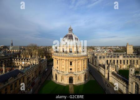 Radcliffe Camera (1737-49) Oxford England - Stock Photo