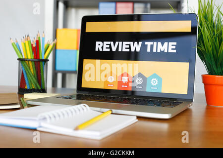 Review Time - Stock Photo