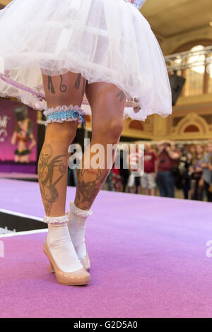 London, UK  28th May, 2016. The Great British Tattoo Show at  Alexandra Palace, London, UK. The show features over - Stock Photo