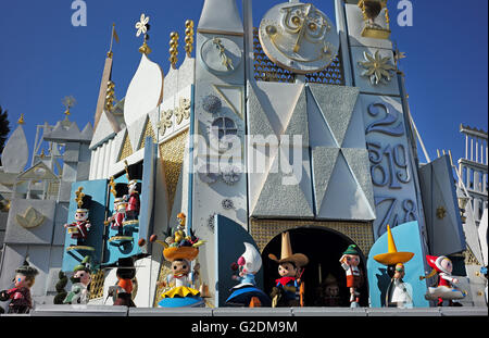 Animated dolls seen at the Disneyland It's a small world attraction. - Stock Photo