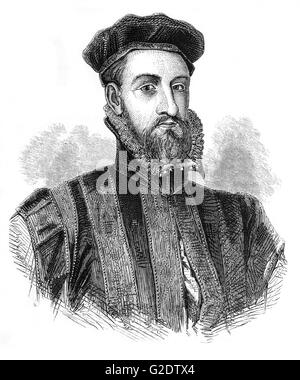 James Stewart, 1st Earl of Moray (1531 – 1570) a member of the House of Stewart as the illegitimate son of King - Stock Photo