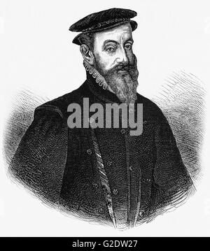 Sir Thomas Gresham (1519 – 1579),  was an English merchant and financier who acted on behalf of King Edward VI, - Stock Photo