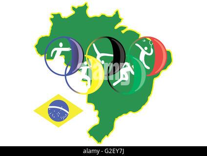 brasilia sport 2016 - Stock Photo