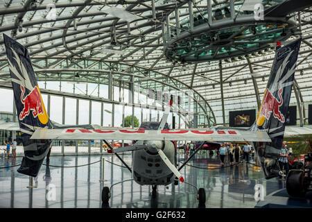 Redbull Hangar Salzburg, Austria - Stock Photo